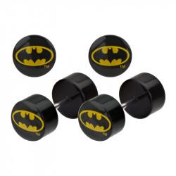 Acrylic Batman Logo False Plug