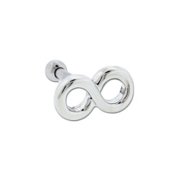 Surgical Steel Infinity Barbell for Cartilage