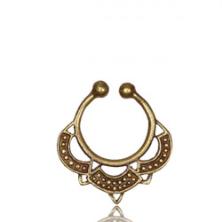 Brass Fake Septum Jewelry