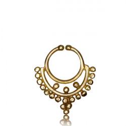 Brass Fake Septum Jewelry