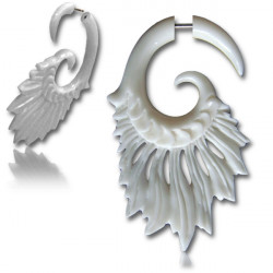 Feather Bone False Spiral