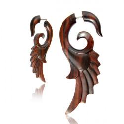 Narra Wood Wing False Spiral