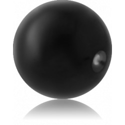 Black Surgical Steel Dimpled Ball for CBR