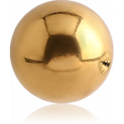 Gold Plated Surgical Steel Dimpled Ball for CBR