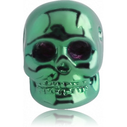 Anodized Surgical Steel Dimpled Skull for CBR