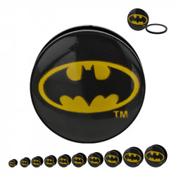 Acrylic Mechanical Plug with Batman Logo