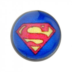 Acrylic Mechanical Plug with Superman Logo