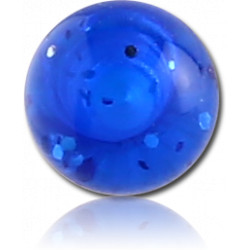 External Thread Acrylic Glittering Ball
