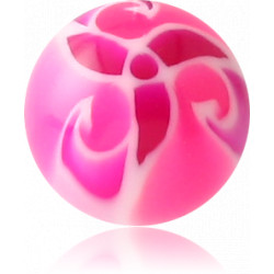 External Thread Acrylic Flower Ball