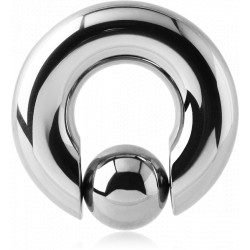 Surgical Steel Ball Closure Ring with Clip in Ball
