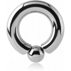 Surgical Steel Ball Closure Ring with Internal Screw in Ball