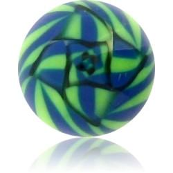 External Thread Acrylic Fancy Ball