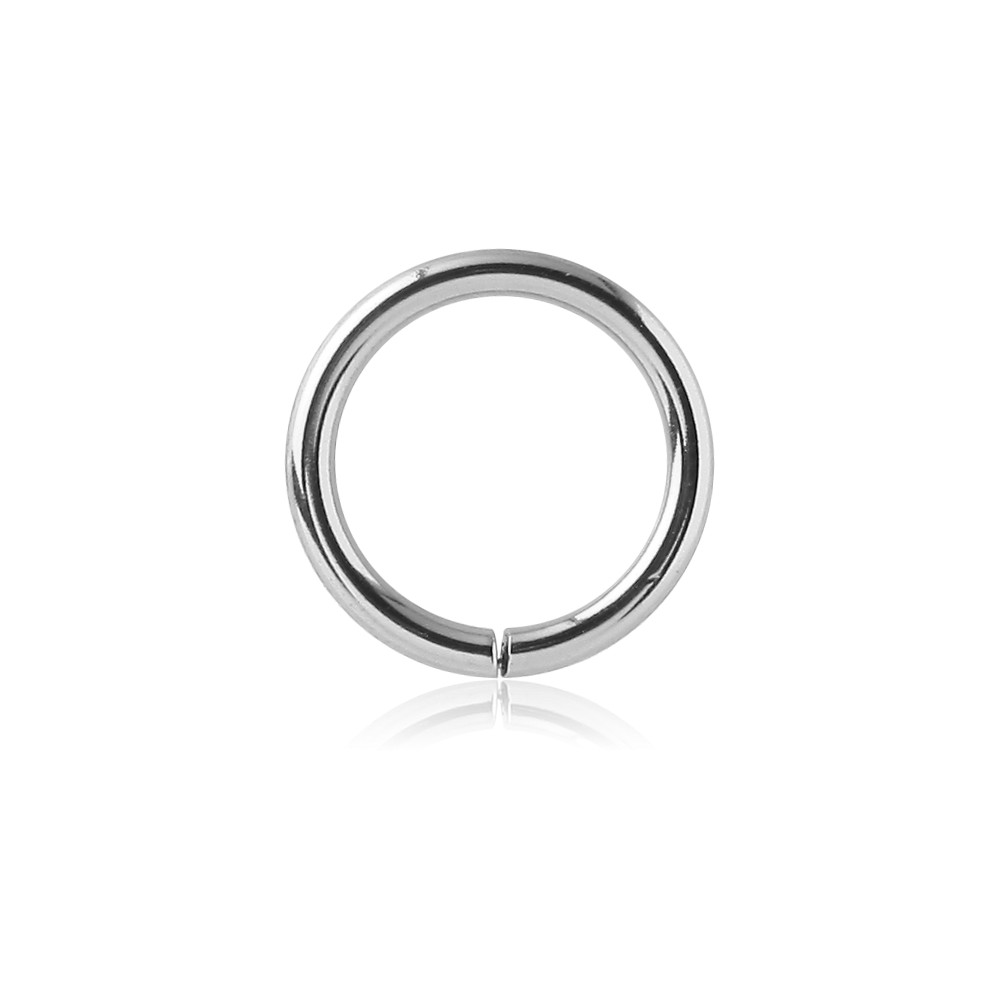925 Sterling Silver Continuous Nose Hoop