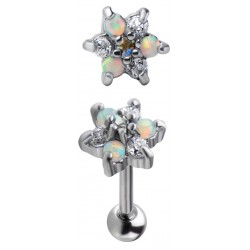 Be A Wildflower Surgical Steel Helix Barbell