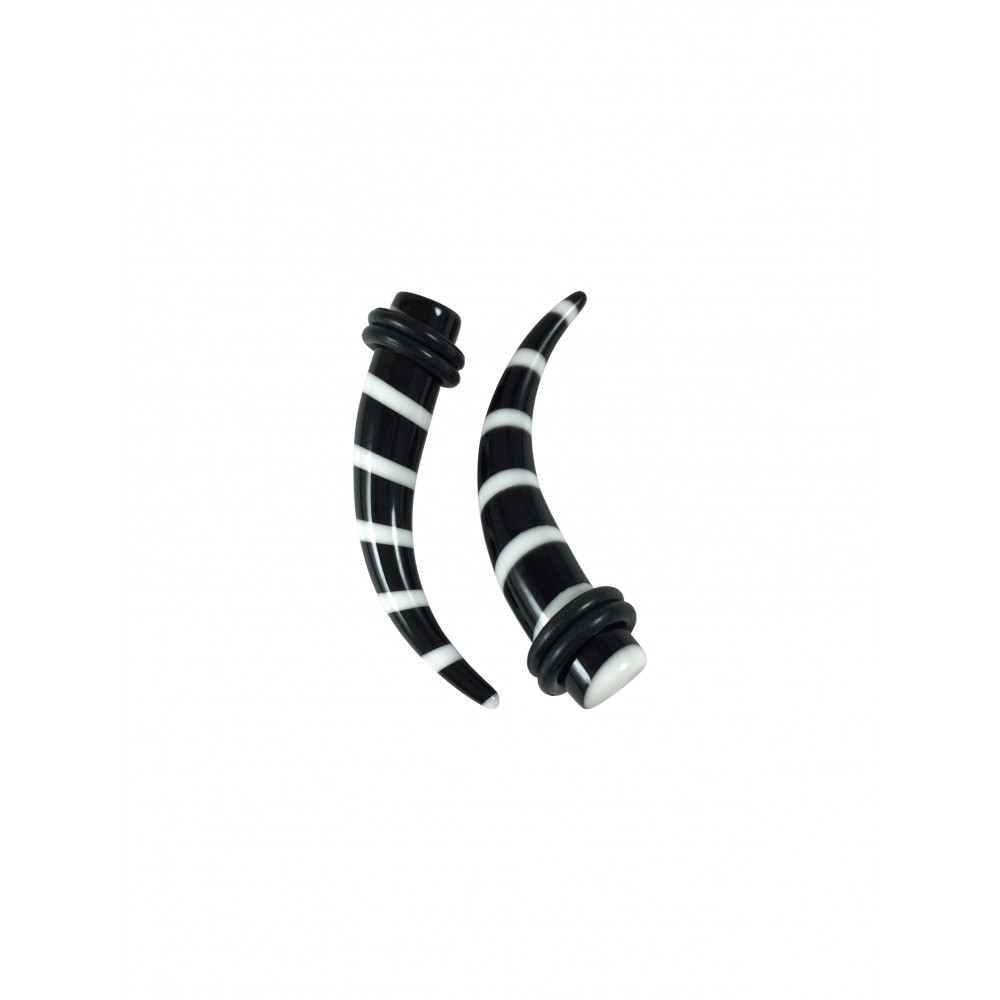 Striped Curved Acrylic Expander