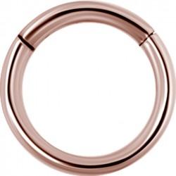 Large Diameter Hinged Segment Ring for Conch Piercing - 16g & 14g